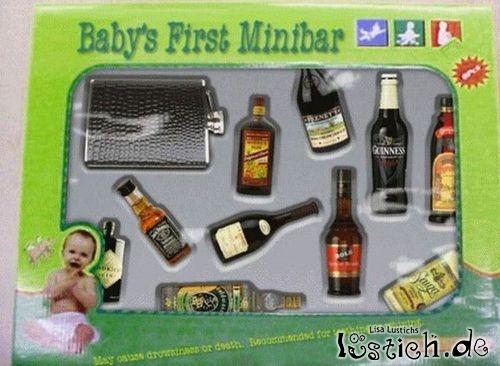 Die erste Minibar