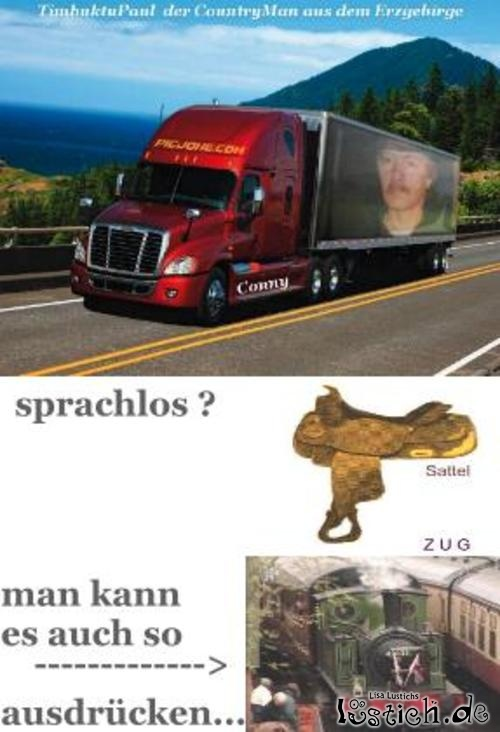 Sattel-Zug