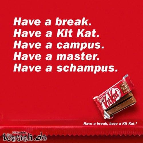 Kitkat Werbung
