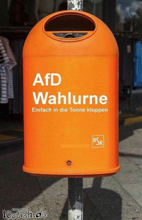 AfD-Wahlurne