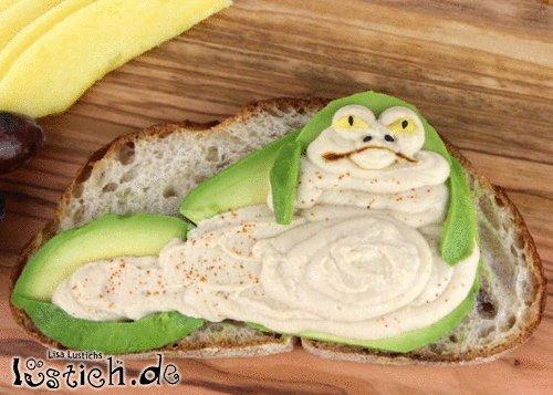 Jabba der Hutte Toast