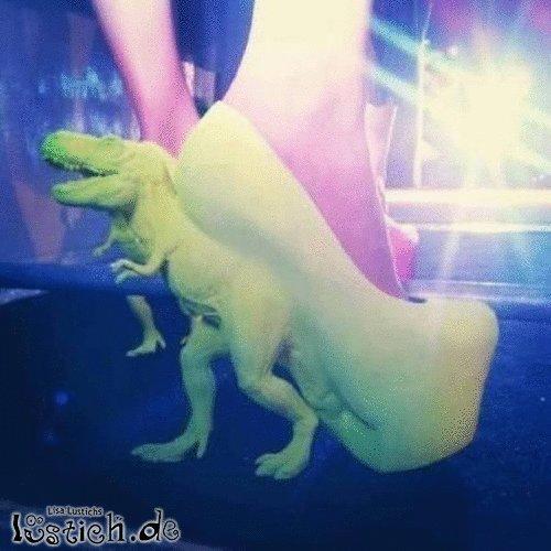 Dinosaurier-Schuhe