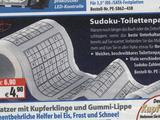Sudoku Toilettenpapier-Spaß