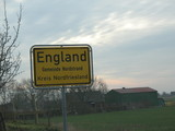 England an der Deutschen Nordseeküste