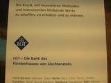 LGT Bank Werbung