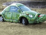 Schildkrötenauto