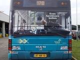Buswerbung von hinten