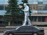 Statue auf dem Auto
