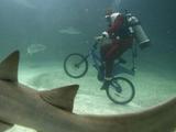 Unterwasser-Fahrrad