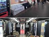 Luxus  in der U-Bahn