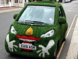 Grünes Monster Auto