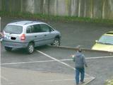 Einen Parkplatz gefunden