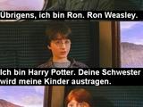 Ronald Weasley lernt Harry Potter kennen