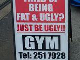 Hässlich und Fett?