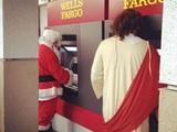 Jesus und der Weihnachtsmann