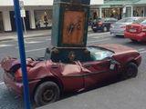 Plattes Auto