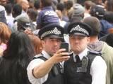 Polizei-Selfie