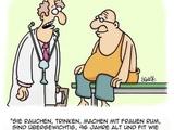 Lächerliche Mediziner