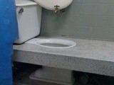 Toilette als Waschbecken umfunktionieren