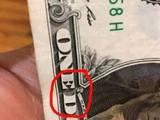 Batman auf dem Dollarschein