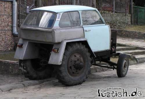Traktorauto