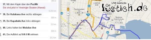 Google Maps empfiehlt...