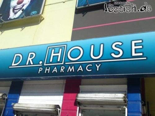 Dr. House ist jetzt Apotheke?
