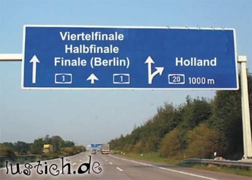 Holland nach Hause