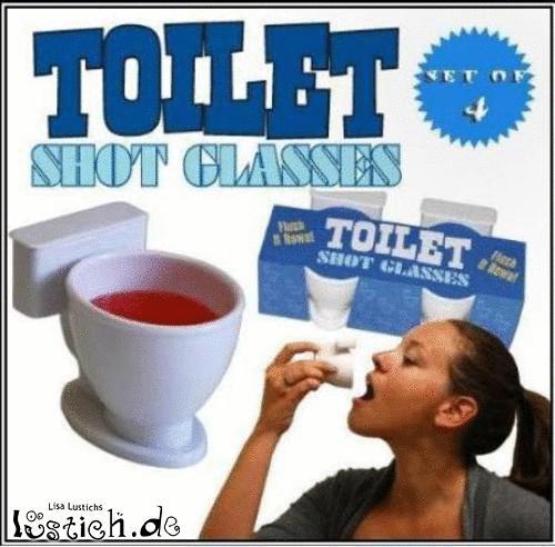 Toilettenshots