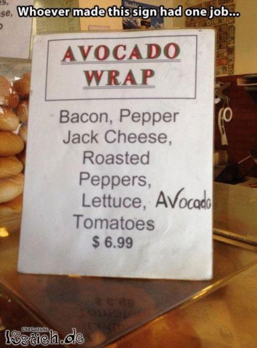 Avocado Wrap