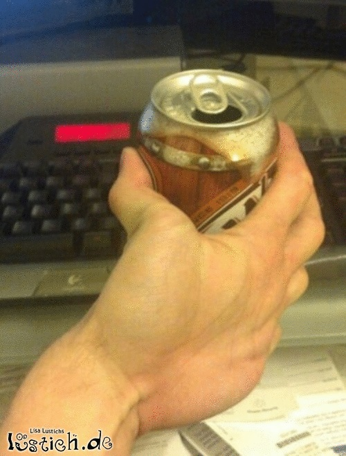Merkwürdige Hand