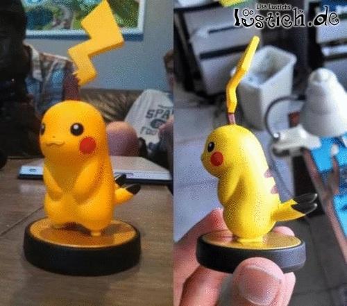 Pikachus Kopf