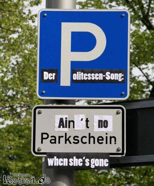 Der Politessen-Song