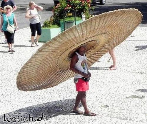 Großer Hut