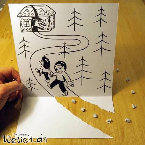 Papierkrumen