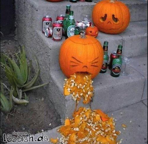 Halloween ist zum Kotzen!