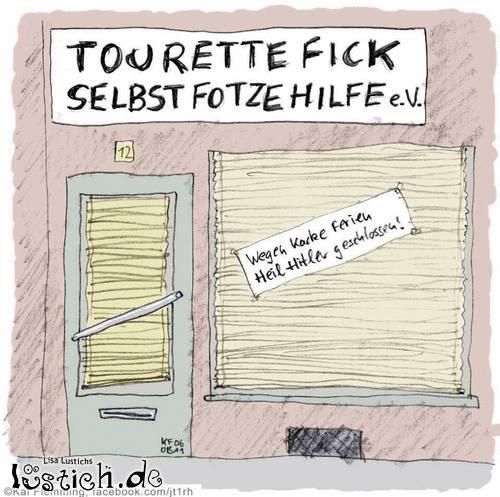 Tourettehilfeverein geschlossen