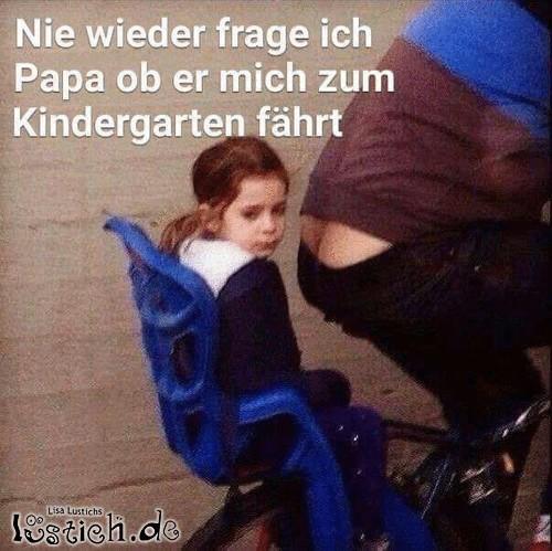 Auf zum Kindergarten, Papa!