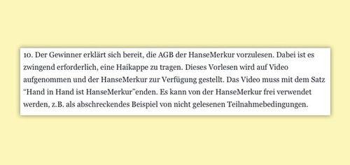 AGB von HanseMerkur
