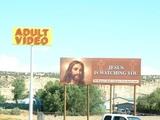 Jesus beobachtet dich