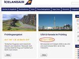 Billig reisen mit IcelandAir