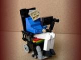 Stephen Hawking aus Lego