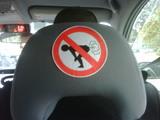 Im Taxi furzen verboten