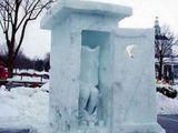 Eiskaltes Örtchen
