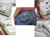 Witzige Geldbörse