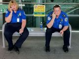 Rauchende Cops