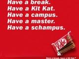 Kit Kat-Werbung