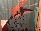 Höre niemals zu Träumen auf