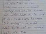 Brief an den Lehrer