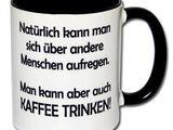 Einfach mal Kaffee trinken
